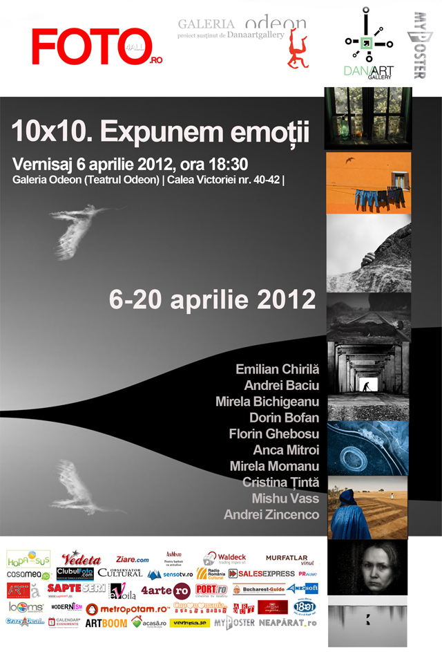 """10×10. Expunem emoții"" @ Galeria Odeon"