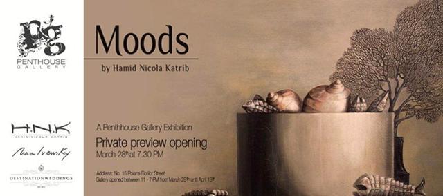 Penthouse Gallery 28 Martie vernisaj HAMID-NICOLA KATRIB