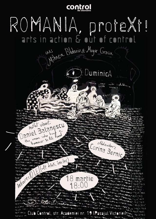 """România, proteXt!"" arts in action & out of control"