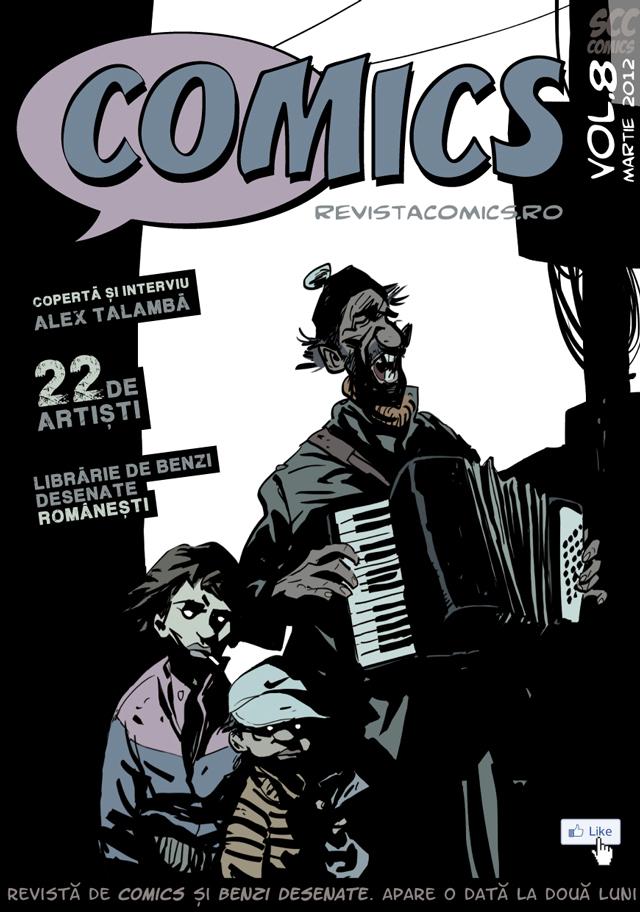 Revista COMICS nr.8 (martie 2012)