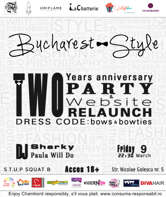Bucharest-Style, 2 years anniversary & Website relaunch party @ Fratelli Espresso bar București