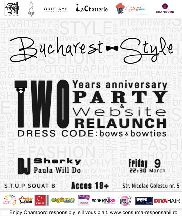 Bucharest-Style, 2 years anniversary & Website relaunch party @ Fratelli Espresso bar București