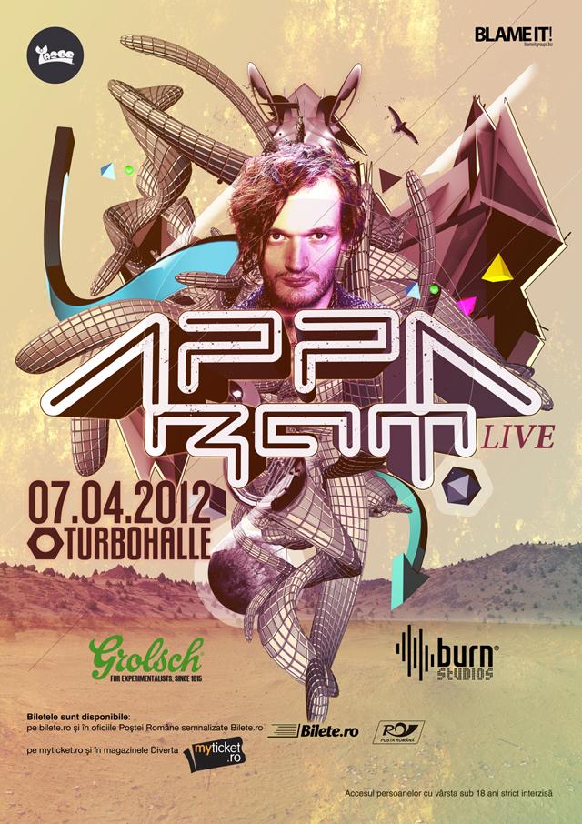 Sascha Ring în APPARAT FULL LIVE BAND @ Turbohalle București
