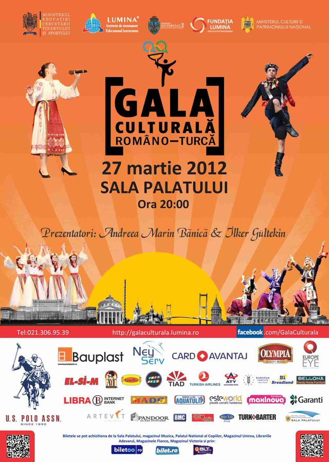 Gala Culturală Româno-Turcă