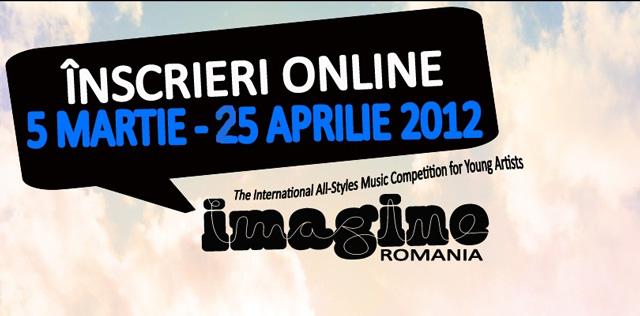 Inscrieri la Festivalul Imagine Romania 2012: Dare to Imagine!