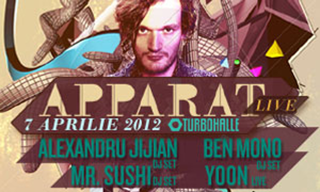 Line up APPARAT FULL LIVE BAND @ Turbohalle București