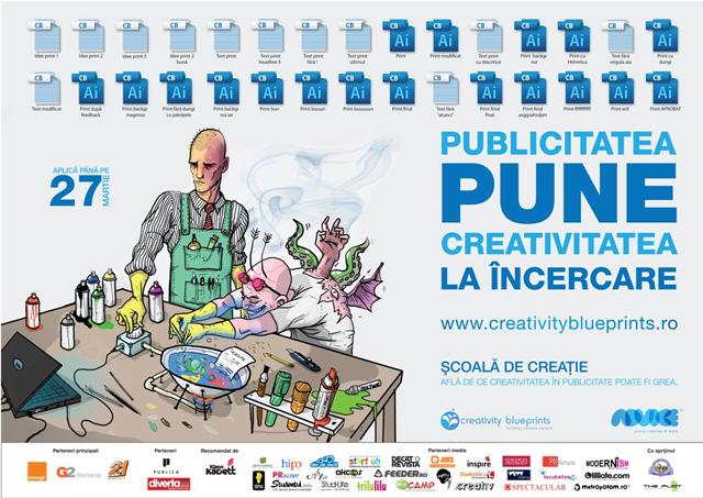 Înscrie-te la Creativity Blueprints 4 organizat de Advice în aprilie 2012 la București