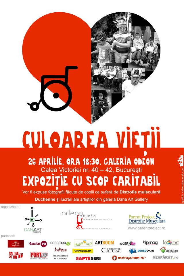 """Eveniment caritabil """"Culoarea vieții"""" @ Galeria Odeon, București"""
