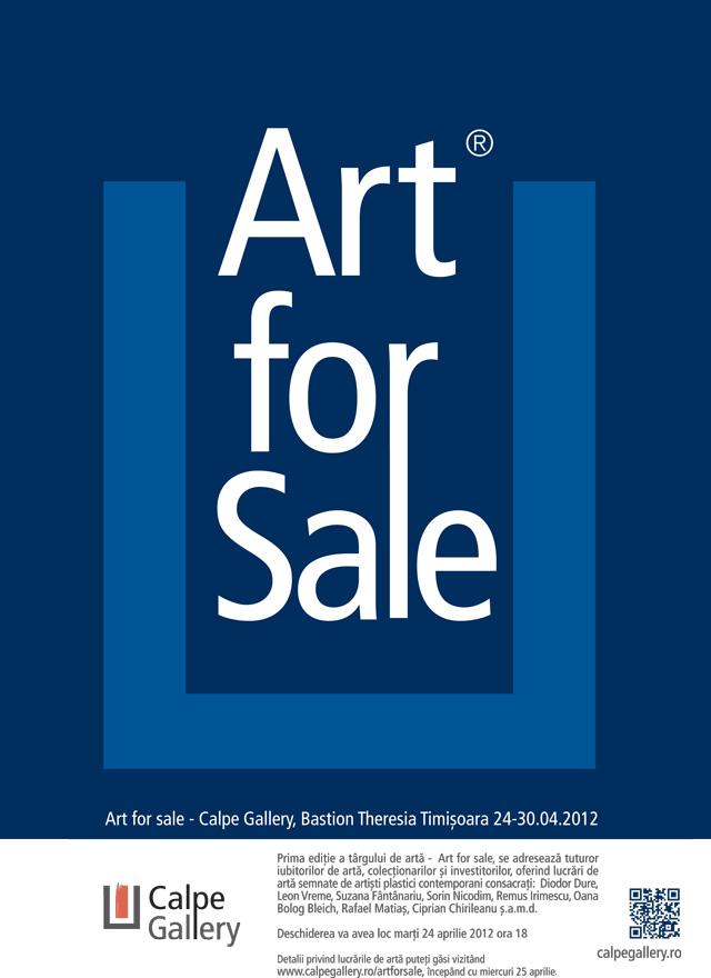 Art for sale – Calpe Gallery, Bastion Theresia – Timişoara