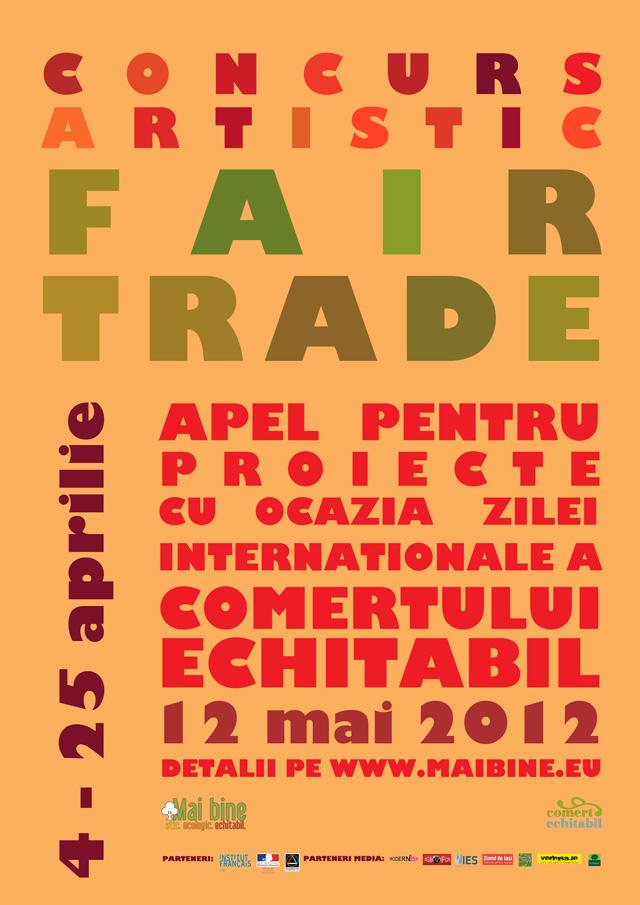 """Concurs artistic """"Fair Trade"""" organizat de Asociaţia Mai Bine la Iaşi"""
