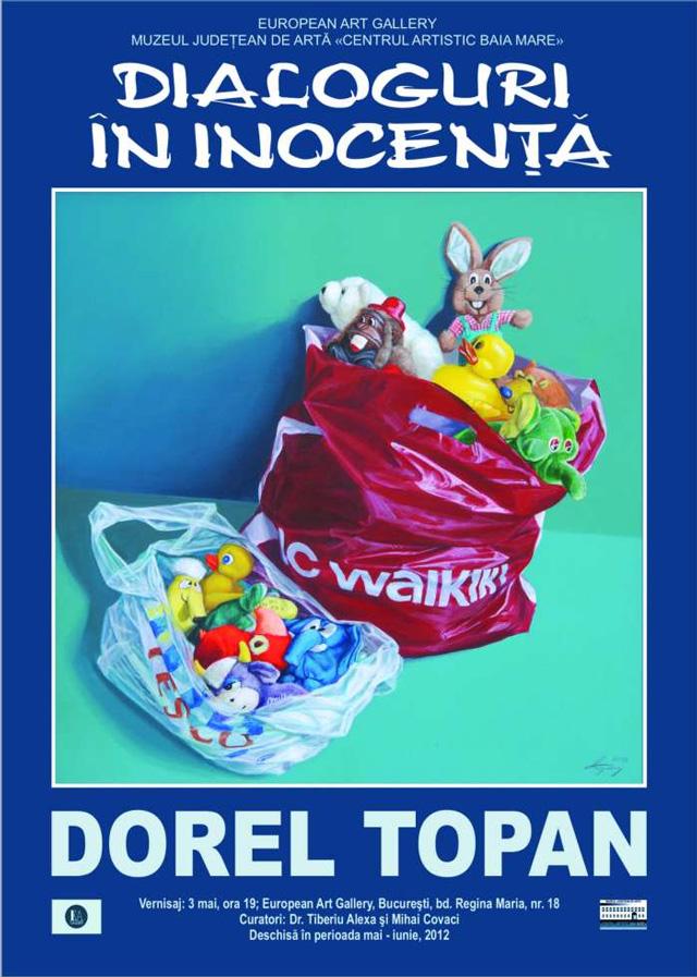 """Dorel Topan, Ioan Anghel Negrean """"Dialoguri în inocenţă"""" @ European Art Gallery"""