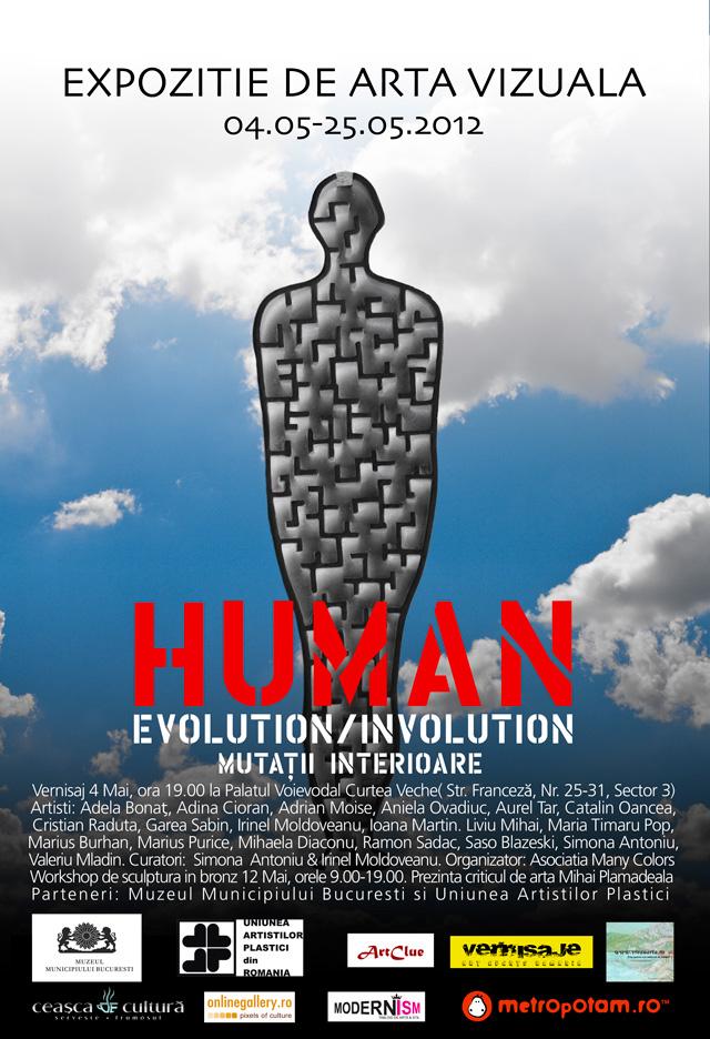 """""""Human Evolution / Involution – Mutaṭii interioare"""" @ Muzeul Curtea Veche din Bucureşti"""