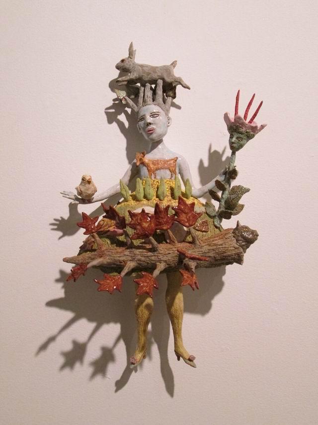 Katty Ruttenberg ceramica-sculptura la NY