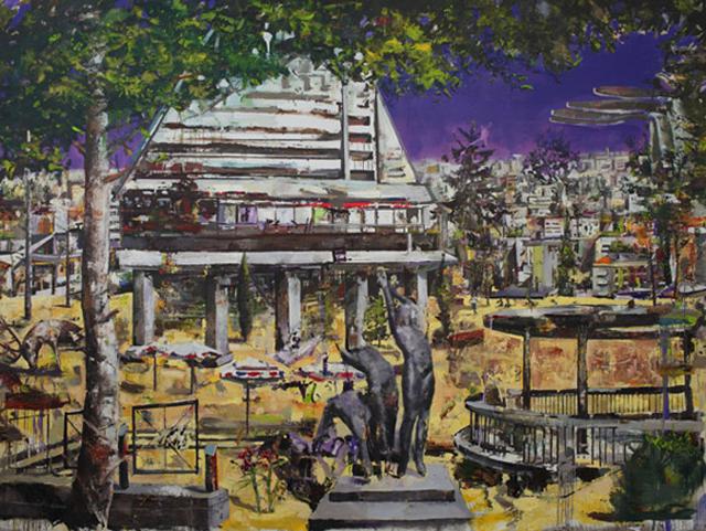 """Marius Bercea, """"Concrete Gardens"""" @ François Ghebaly Gallery, Los Angeles"""