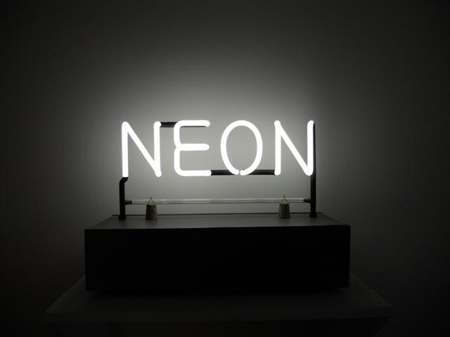 Néon, who's afraid of red, yellow and blue? @ la maison rouge, Paris