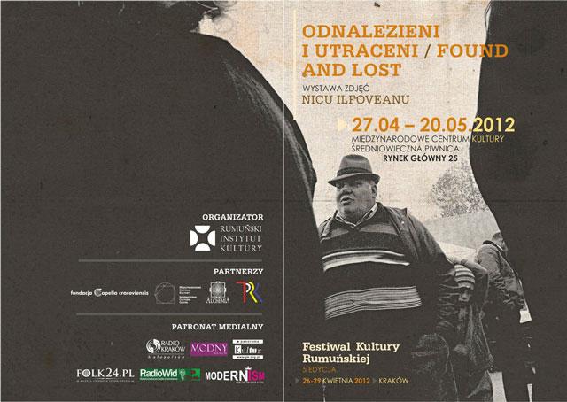 """Nicu Ilfoveanu, """"Found and Lost"""" @ Centrul Internaţional pentru Cultură, Cracovia"""