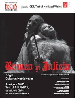 """""""Romeo şi Julieta – despre dragoste şi ură"""" @ Festivalul Internaţional Shakespeare la Bucureşti"""