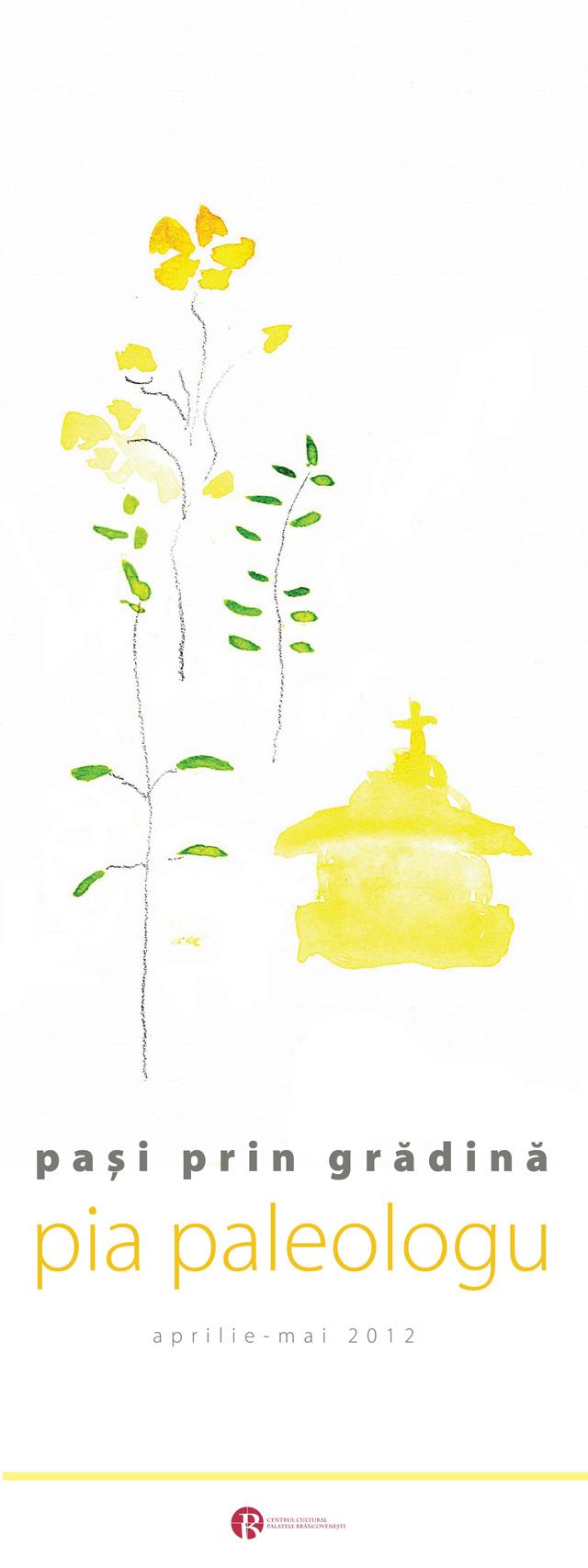 """Olimpia Paleologu, """"Paşi prin grădină"""" @ Casa Artelor, Palatele Brâncovenești Mogoșoaia"""