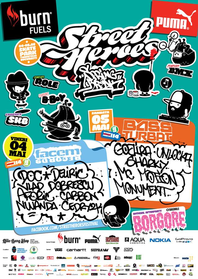 Street Heroes Spring Break – ediția a 3-a, 4-5 mai 2012