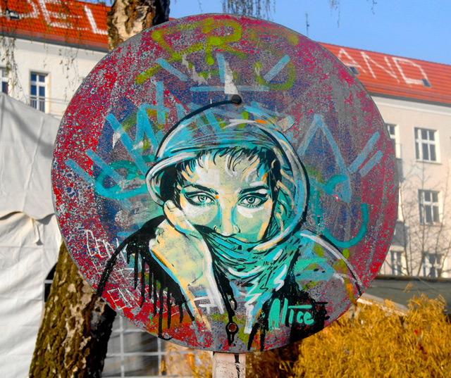 The Affectionate Street Art of Alice Pasquini
