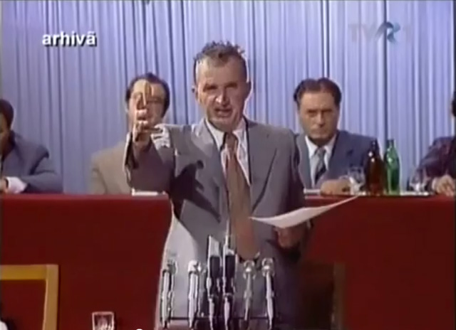 Discursul lui Ceaușescu despre cultură, la Mangalia, 1983