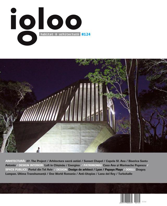 Igloo proaspăt, pe aprilie: habitat & arhitectura no. 124 pe 2012