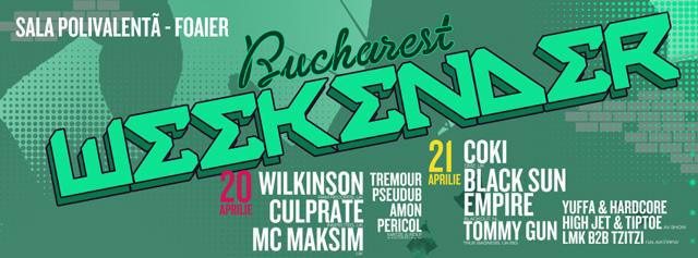 Câștigă 5 invitații duble la Bucharest Weekender. Acum!
