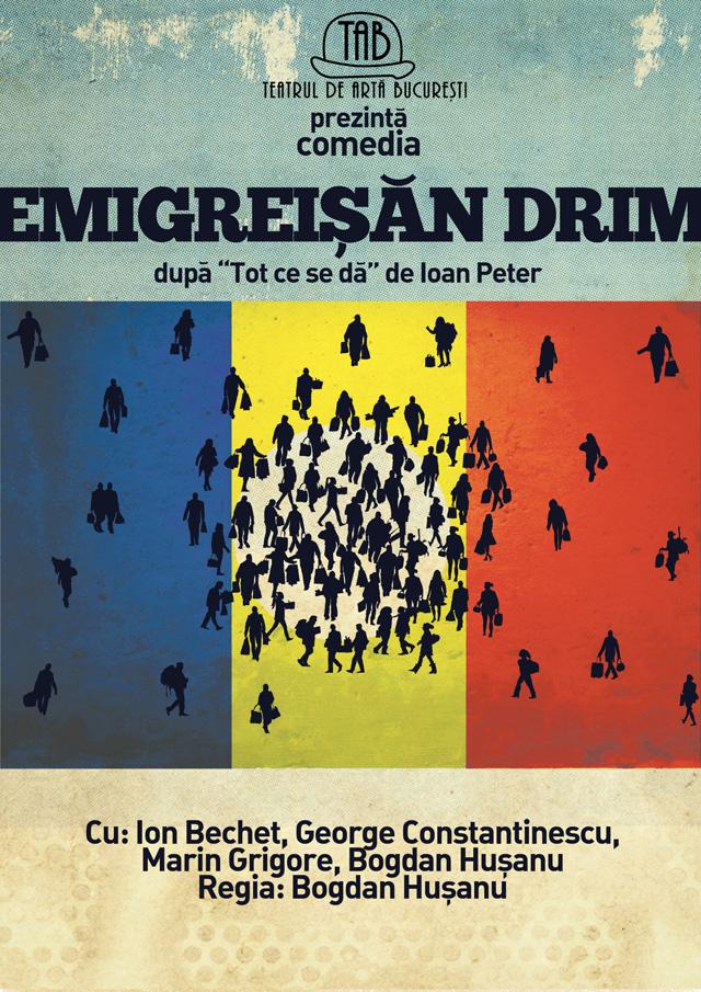 """""""Emigreișăn Drim"""" în club La Scena"""