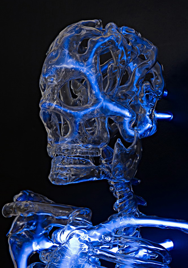 Embodiment: A Neon Skeleton by Eric Franklin