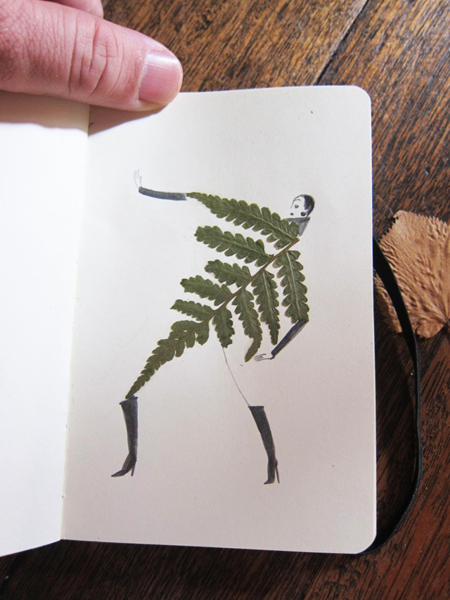 Drawing with Leaves