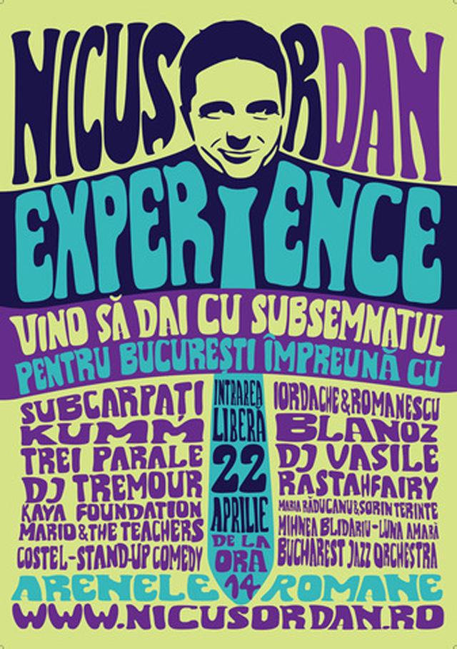Concert pentru Nicusor Dan candidat la Primaria Bucuresti: 22 aprilie 2012, Arenele Romane Bucuresti