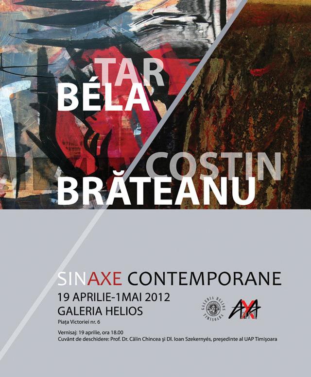 """Bela Tar, Costin Brăteanu """"SINAXE CONTEMPORANE"""" @ GALERIA HELIOS, Timișoara"""