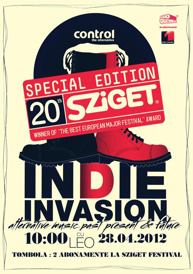 SZIGET  FESTIVAL 2012 OFFICIAL PARTY, aprilie @ Control Club București