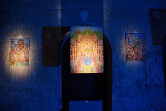 """Andreea Costenco """"Camino History Organic Structure"""" @ Galeria Odeon, București"""