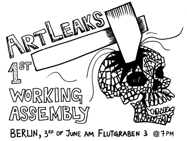 1st ArtLeaks Working Assembly