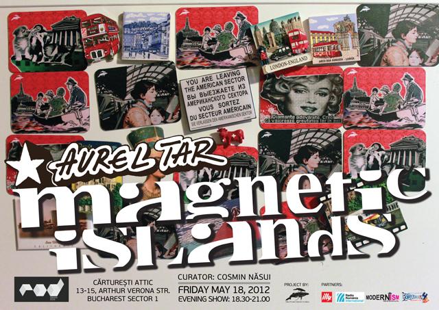"""Frigiderul cu lucrări de artă """"Magnetic Islands"""""""