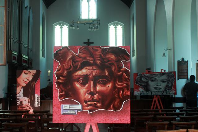 Aurel Tar, artă contemporană în Biserica anglicană din București
