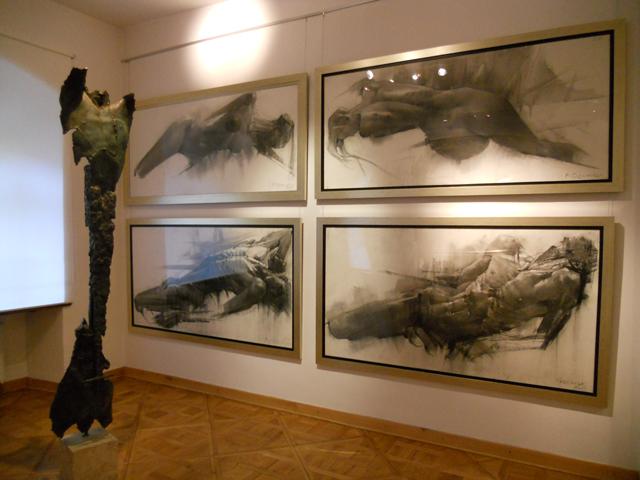 "Bogusz Salwiński, ""Sacra humanum"" – desen, sculptură @ Galeria Autorska Jana Siuty, Cracovia"