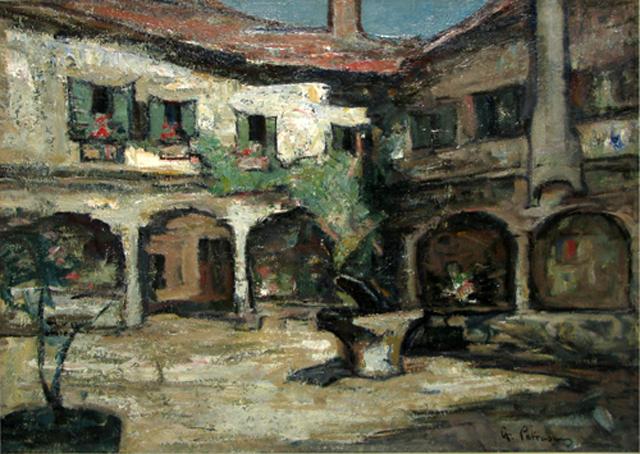 Un tablou de Gheorghe Petraşcu scos la licitaţie pentru 50.000 de euro