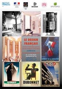 Designul francez în perioada interbelică, între Modernism si Art Déco @ Institutul francez Iași