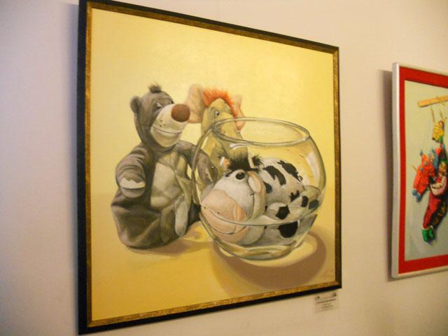"""Dorel Topan, Ioan Anghel Negrean """"Dialoguri în inocenţă"""" @ European Art Gallery, galerie de imagini"""
