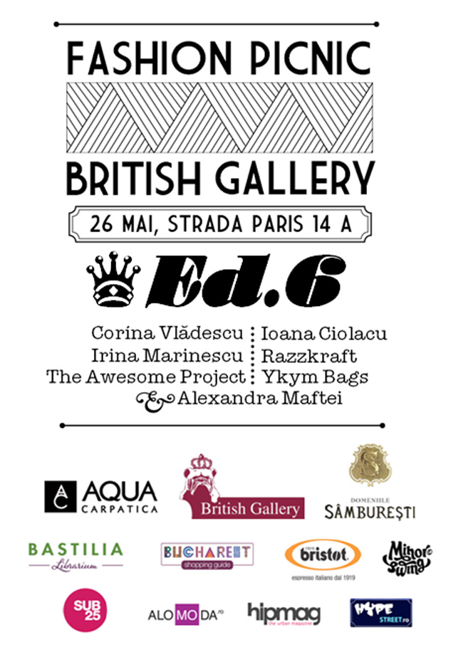 Fashion Picnic @ British Gallery București