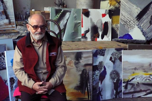 Ion Sălişteanu IN MEMORIAM la Calpe Gallery, Timişoara