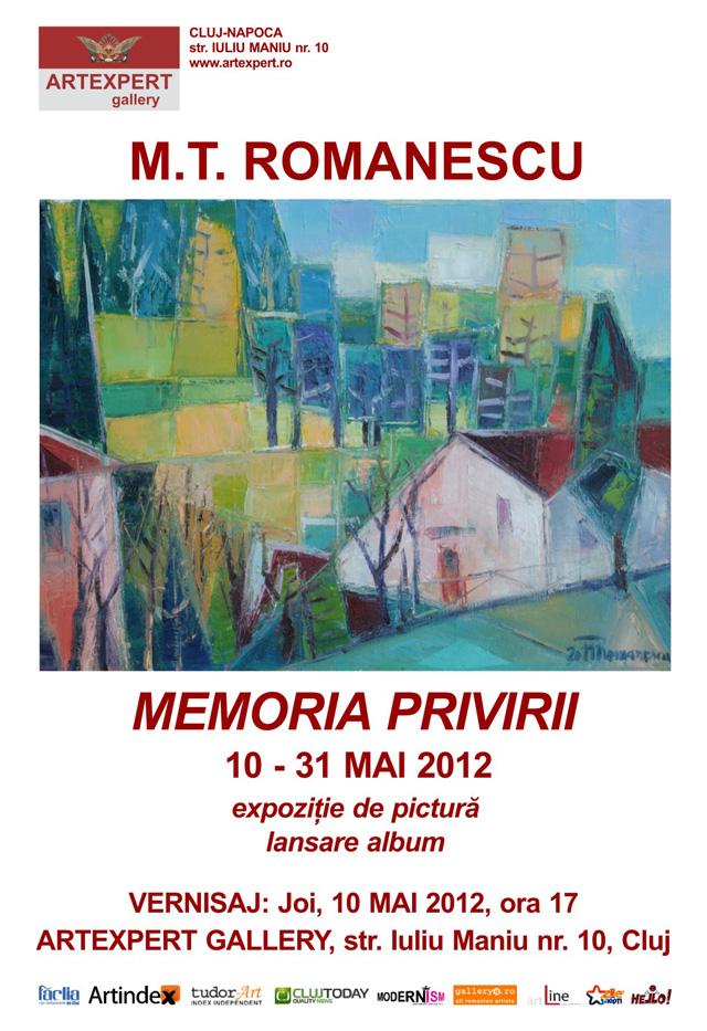 MEMORIA PRIVIRII de Mircea Titus ROMANESCU la ARTEXPERT GALLERY, Cluj-Napoca