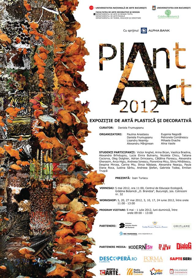 PLANT ART 2012 – expoziţie de artă plastică şi decorativă