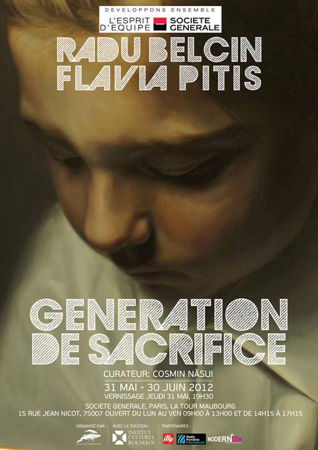 "Radu Belcin, Flavia Pitiş ""Generația de sacrifiu"" @ Societe Generale, Tour Maubourg, Paris"