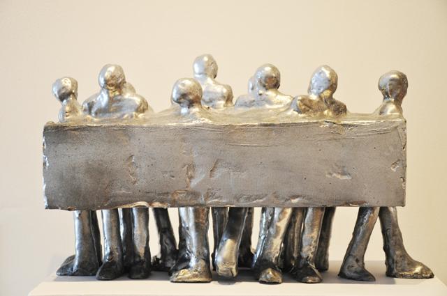 """Raluca Ungureanu, """"disTURBIA"""" @ Art on the Avenue Gallery, Philadelphia, galerie de imagini"""