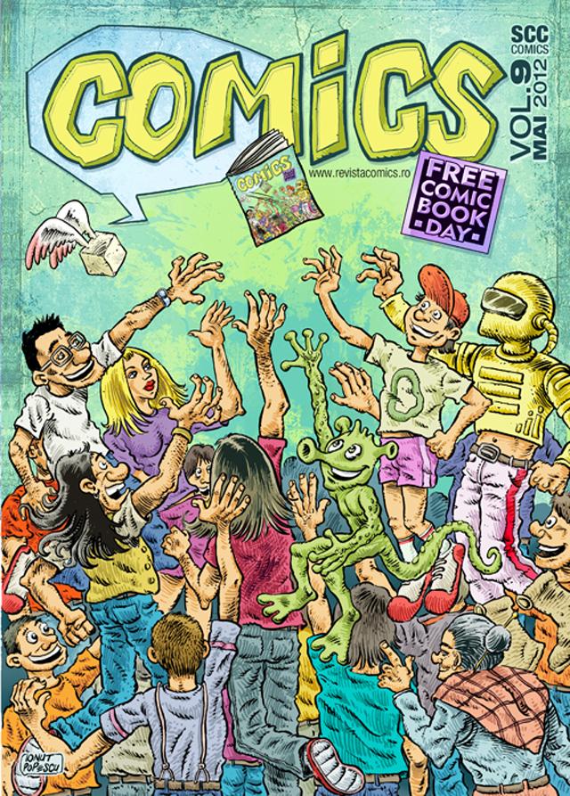 Revista COMICS nr. 9 (mai 2012)