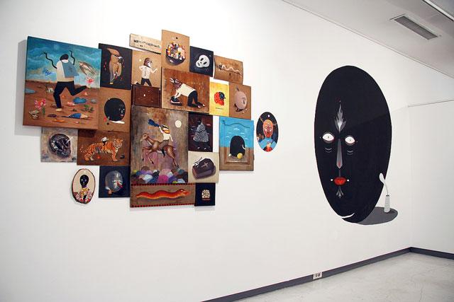 """Saddo şi Aitch """"THE GOLDEN HOURS"""" @ Galeria Calina, Timișoara, galerie de imagini"""