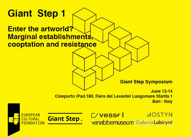 Giant Step 1: Enter the Artworld? Marginal Establishments, Cooptation and Resistance